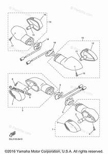 Yamaha Motorcycle 2006 Oem Parts Diagram For Flasher Light