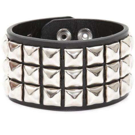 row stud wristband hot topic