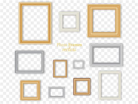 Different Color Photographic Frame Vector Free Download
