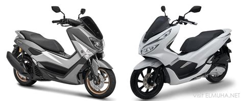 Pilih Yamaha Nmax Atau Honda Pcx 150?