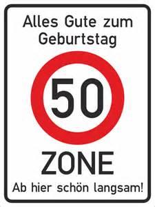 50er geburtstag sprüche schild rechteck 50er zone