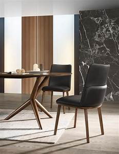 Modrest, Utah, -, Modern, Walnut, And, Brown, Eco-leather, Dining, Chair-, Set, Of, 2, -, Dining, Chairs