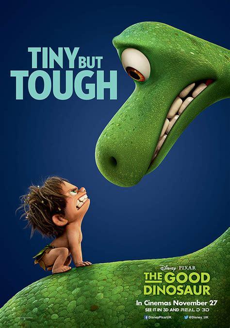 good dinosaur  poster  trailer addict