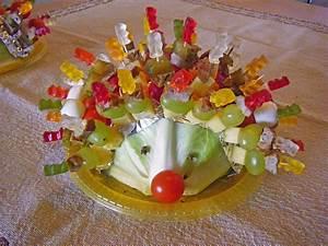 Silvester Snacks Ideen : gartenliebes bunter spie e igel mit gummib ren rezept mit ~ Lizthompson.info Haus und Dekorationen