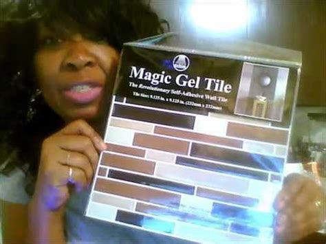 Family Dollar Store   Magic Gel Tile Kitchen Wall Makeover