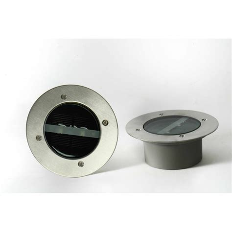 spot led solaire encastrable exterieur 1 spot solaire