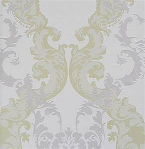 Tapete Ornamente Grau : ornamentals barock tapete ornamente 48660 wei grau gr n ~ Buech-reservation.com Haus und Dekorationen