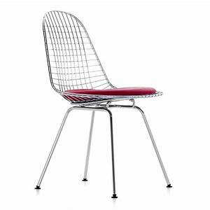 Vitra Eames Stuhl : vitra eames wire chair dkx 5 stuhl verchromtes ~ A.2002-acura-tl-radio.info Haus und Dekorationen