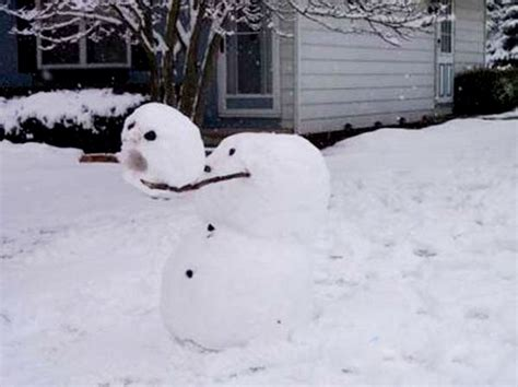 funny  crazy snowmen frikkin awesome