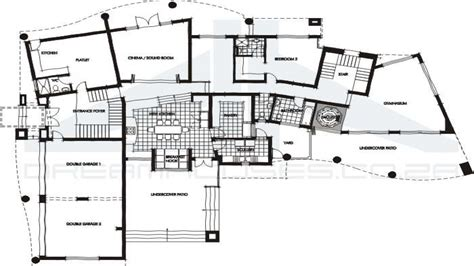 contemporary plan modern house plans contemporary house floor plans