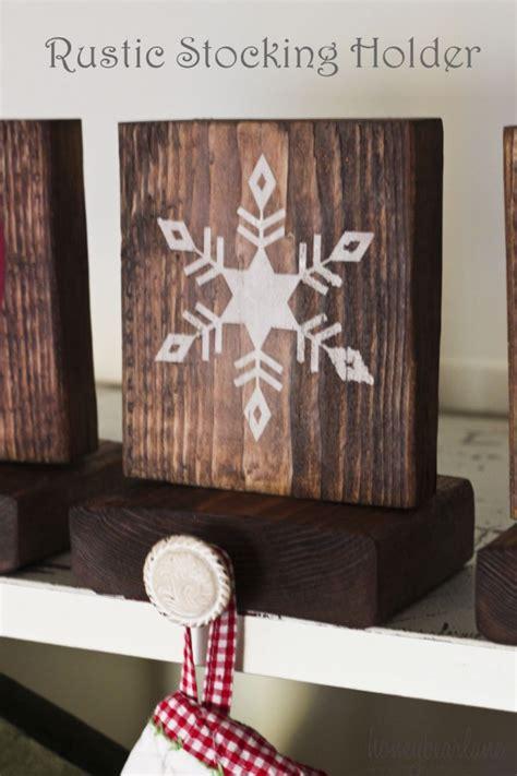 rustic stocking holders honeybear lane
