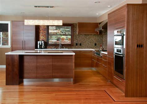 Flat panel kitchen cabinet by Berkeley Mills Kitchen