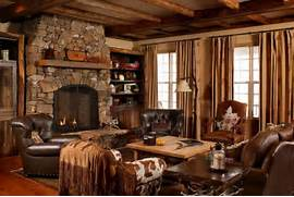Rustic Cabin Living Room Ideas by Vignette Design Design Bucket List 5 Decorate A Cabin In The Woods