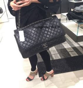 chanel xxl flap bag  springsummer  act  collection spotted fashion