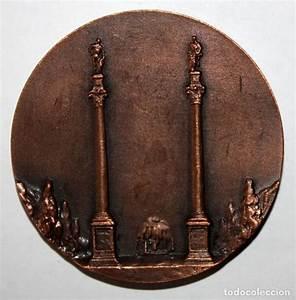 Medalla En Bronce Del Torero Rafael G U00f3mez Orteg