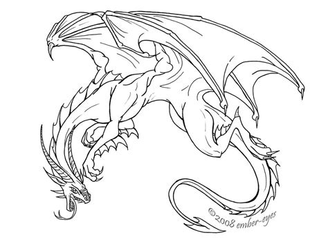 Coloring Dragons by Coloring Pages
