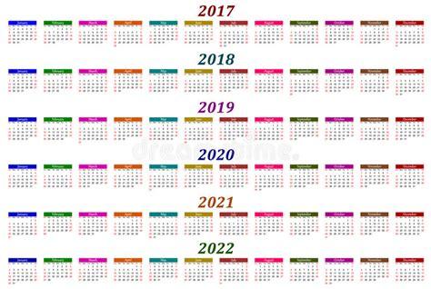 2017, 2018, 2019, 2020, 2021 Och 2022
