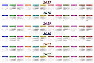 Jahreskalender 2018 2019 : sex rskalender 2017 2018 2019 2020 2021 och 2022 ~ Jslefanu.com Haus und Dekorationen