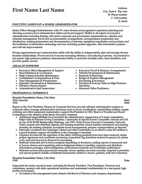 office manager resume template administrative assistant