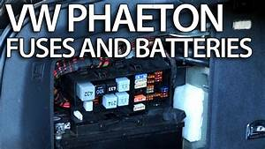 Where Are Batteries  Fuses And Relays In Vw Phaeton