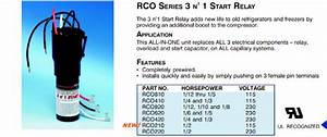 Supco Universal Potential Relays For A Cruisair Compressor Cube Relay