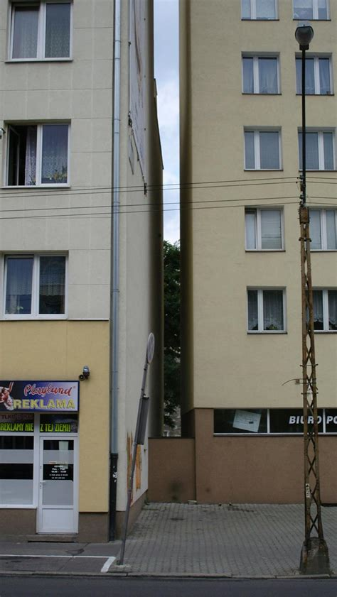keret house worlds narrowest home located  warsaw