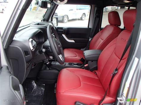 Rubicon 10th Anniversary Edition Red Black Interior 2013