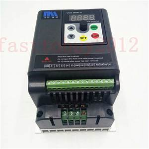 5 5kw 7 5hp 380v Vfd 3 Phase Motor Speed Control 12 6a