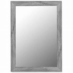 hitchcock butterfield decorative wall mirror in weathered With bed bath and beyond decorative mirrors