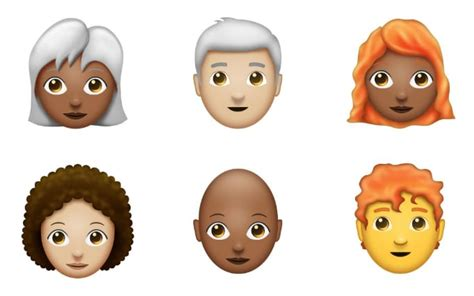 Redhead And Bald Emoji Proposed For 2018