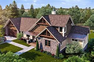 Rugged Mountain House Plan With Huge Screened Porch