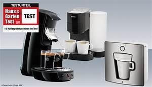 Kaffeepadmaschinen Im Test : 10 kaffeepadmaschinen im test haus garten test ~ Michelbontemps.com Haus und Dekorationen