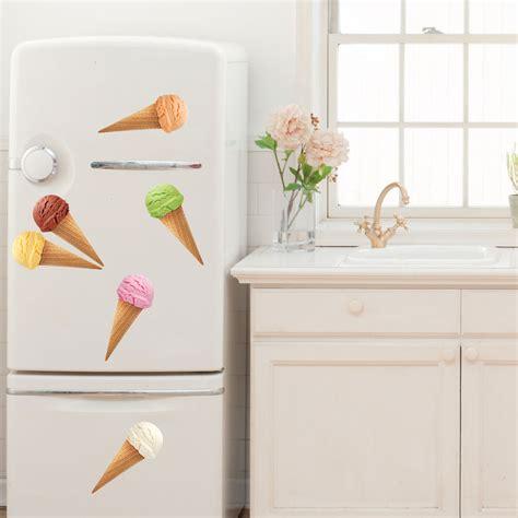 stickers pour la cuisine stickers muraux pour la cuisine sticker cônes de glace