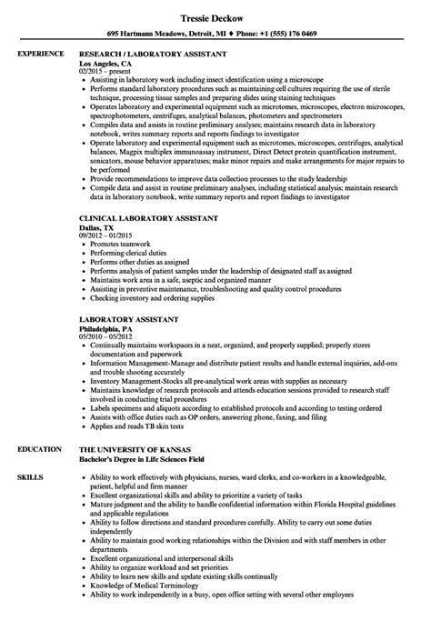 laboratory skills  resume loginnelkrivercom