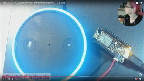 alexa controlled light switch new guide control a feather huzzah with esp8266 using
