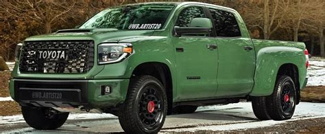 toyota tundra trd dually truck rendering    heavy lifter autoevolution