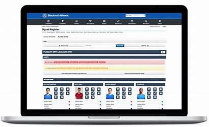 System Athlete Management Office Sports Register Squad