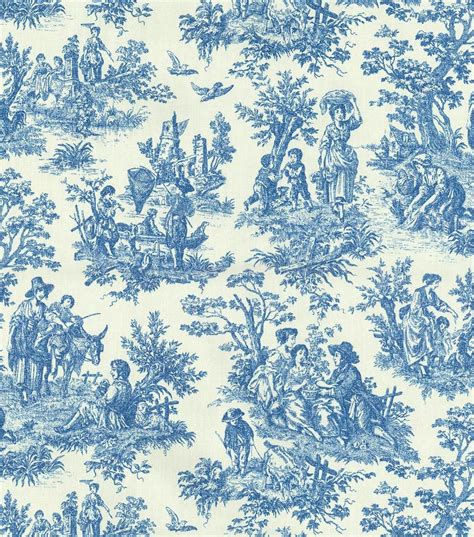 Waverly Upholstery Fabric 54 Charmed Lifecornflower