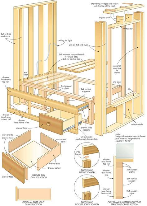 construct  cozy homemade built  bed   florida