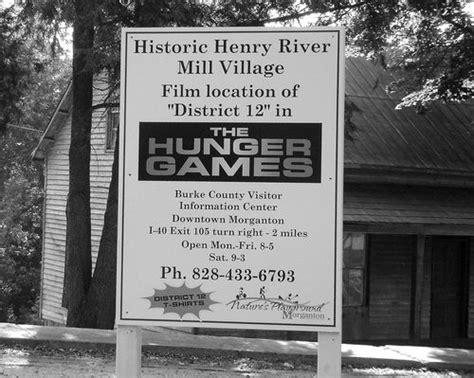 henry river mill village burke county district  black