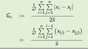 Koeffizient Berechnen : gini koeffizient und lorenzkurve mathelounge ~ Themetempest.com Abrechnung