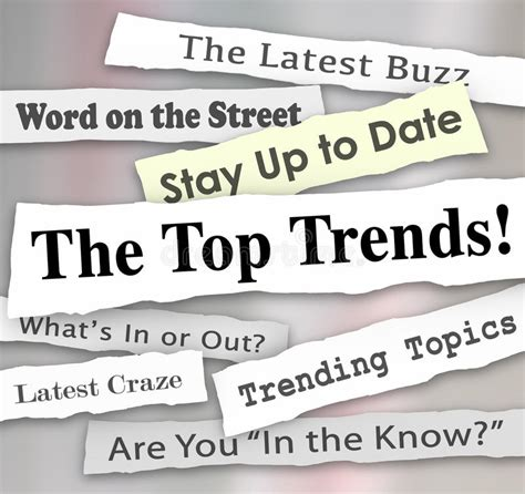 The Top Trends Hot New Ideas Latest Fads Fashion Ideas
