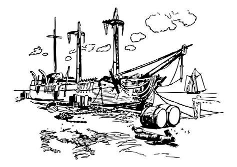 Kleurplaat Paulus Schipbreuk by Kleurplaat Schipbreuk Afb 10513