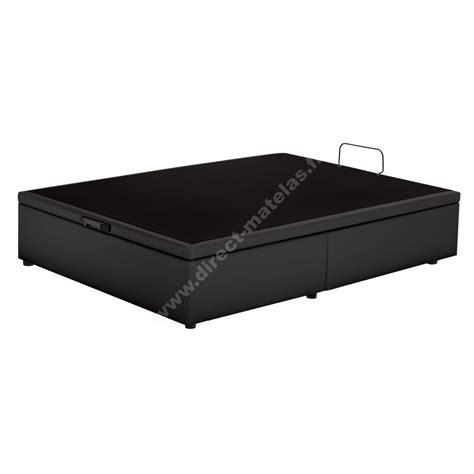 sommier coffre simmons noir 160x200