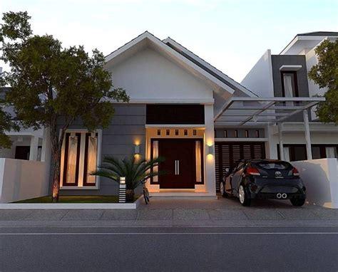20 desain rumah minimalis modern 1 lantai 2019 terbaru