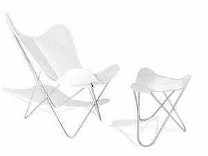 Butterfly Chair Original : poltrona in pelle con poggiapiedi hardoy butterfly chair original by weinbaum ~ Frokenaadalensverden.com Haus und Dekorationen