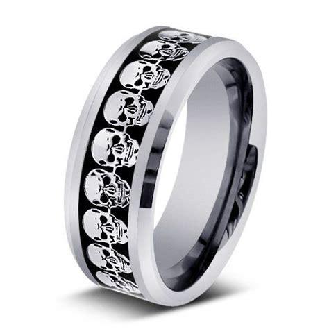 men s wedding rings skull wedding ring man wedding