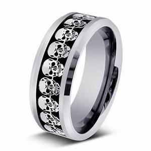 men39s wedding rings skull wedding ring man wedding With wedding rings with skulls on them
