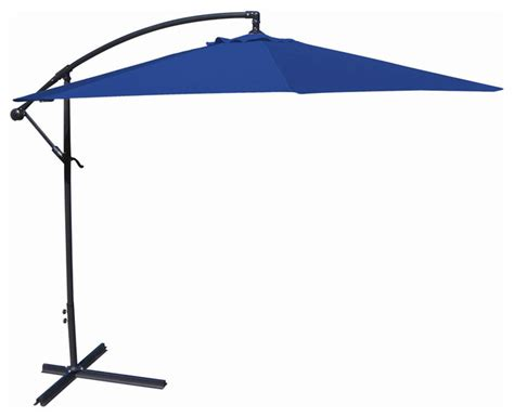 fastfurnishings offset cantilever patio umbrella with