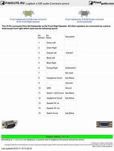 Logitech Z623 Wiring Diagram